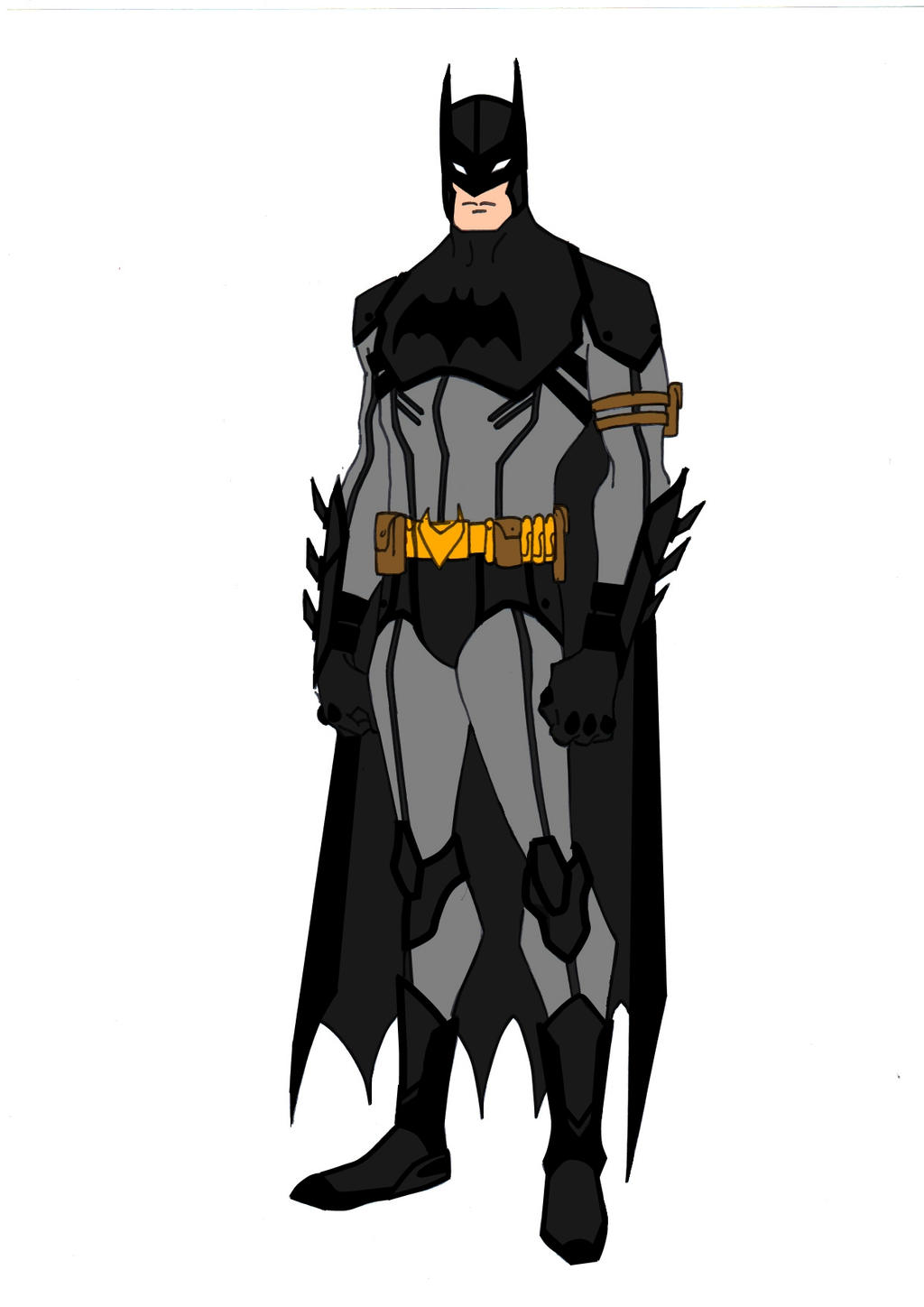 JLA Year One~Batman by Comicbookguy54321