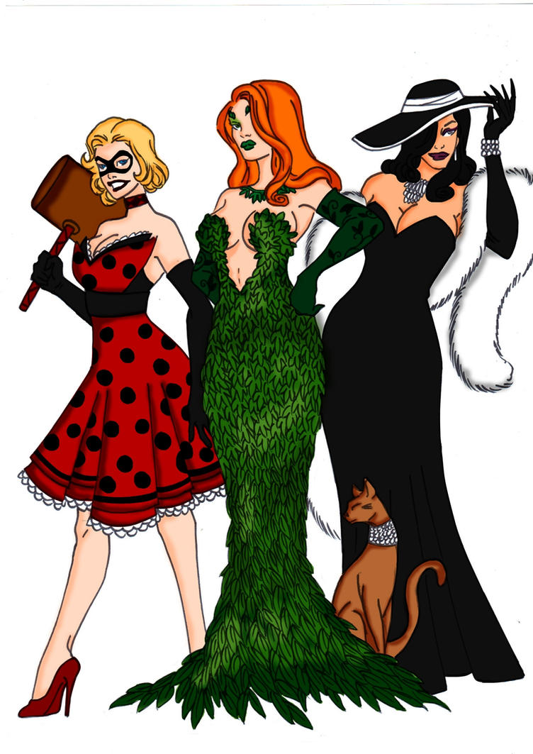 Gotham City Glamour! by Comicbookguy54321