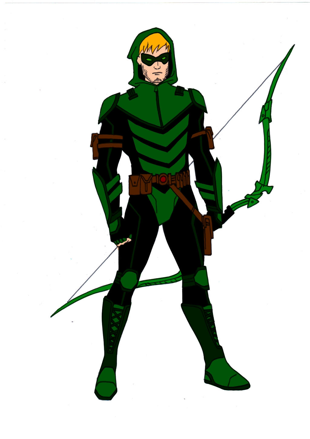 JLA Year One~Green Arrow by Comicbookguy54321