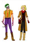 Batman Year One-Joker And Harley Quinn Redesigns! by Comicbookguy54321