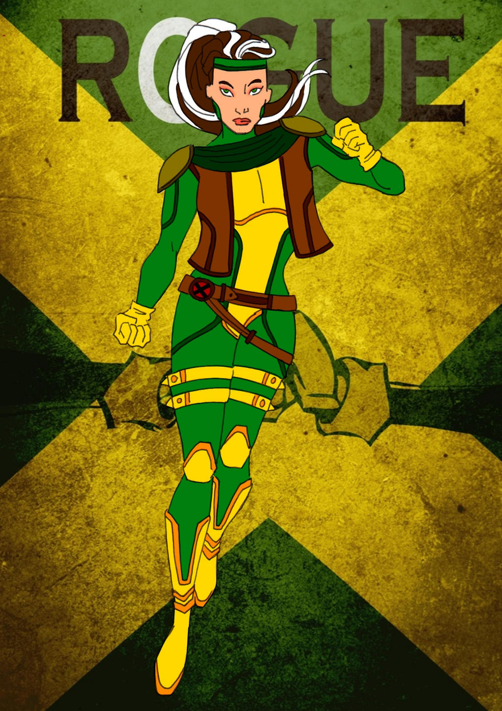 Rogue Redesign!! by Comicbookguy54321