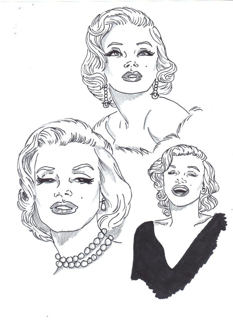 Marilyn by Comicbookguy54321