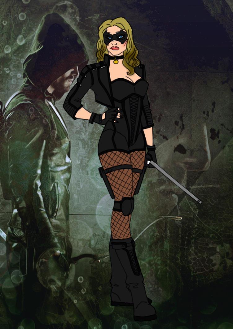 Arrow-Laurel Lance Redesign by Comicbookguy54321