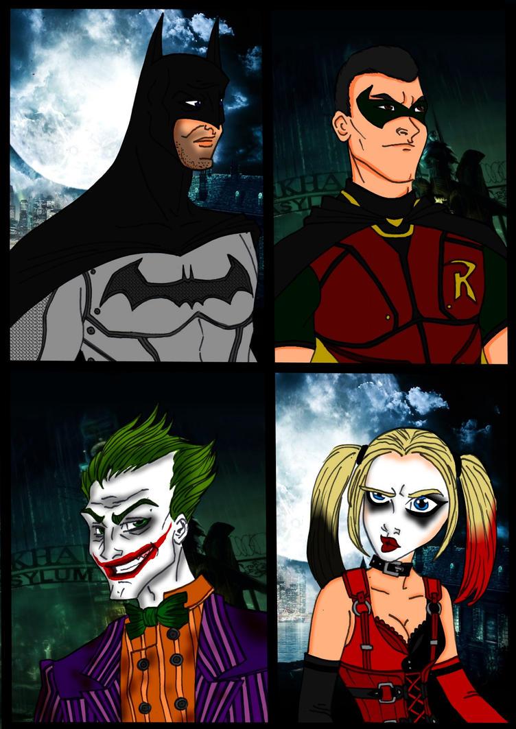 Batman-Arkham Asylum~ Animated Part 1 by Comicbookguy54321