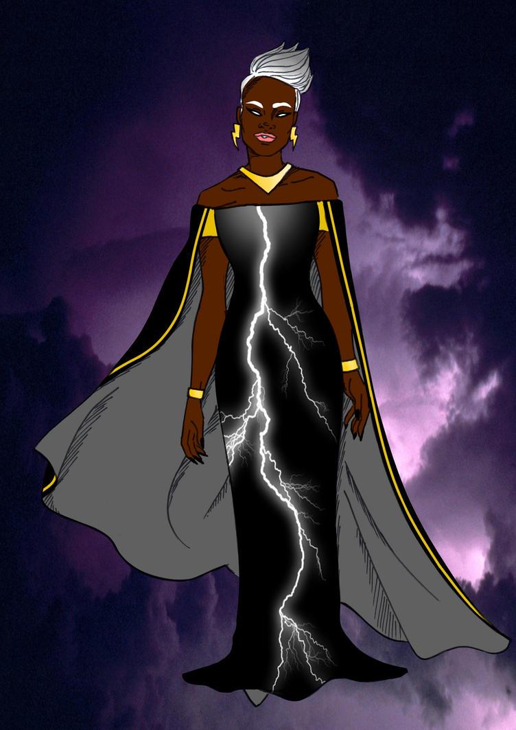 Ororo Munroe by Comicbookguy54321