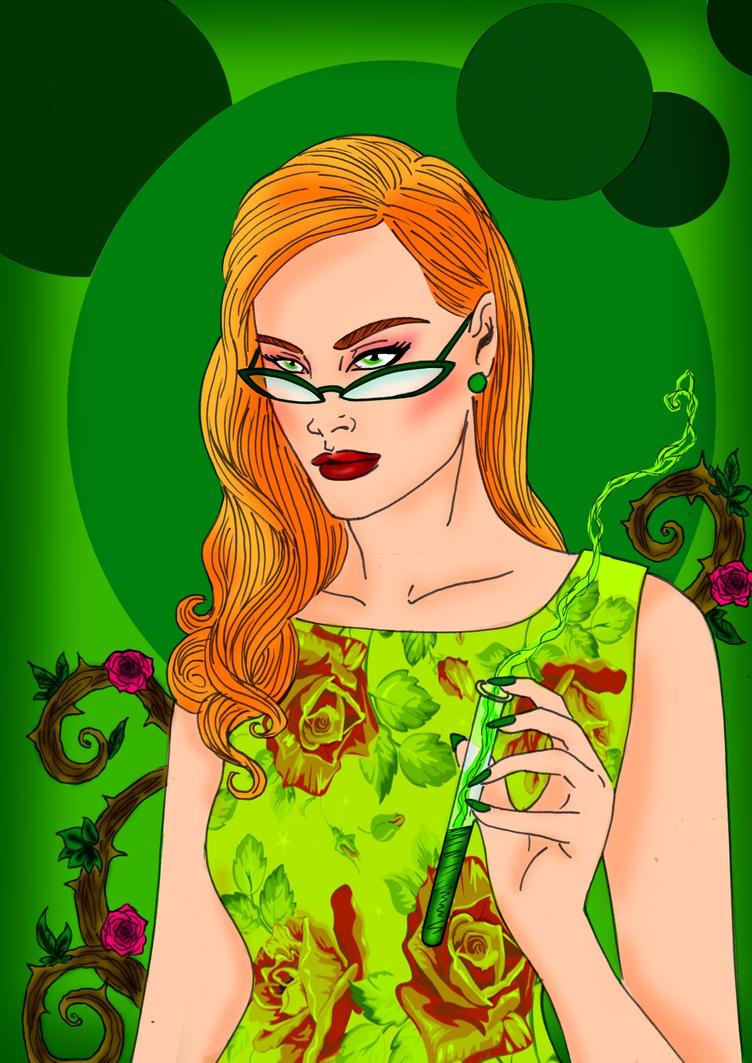 Dr Pamela Lillian Isley by Comicbookguy54321