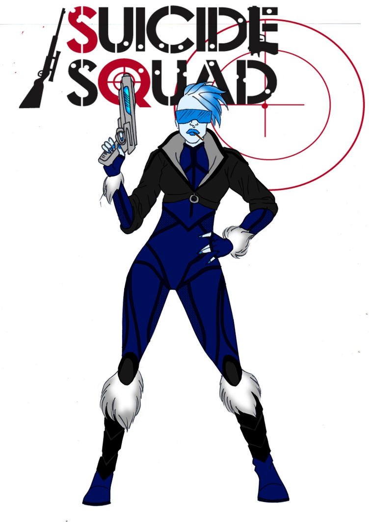 Suicide Squad-Killer Frost Redesign by Comicbookguy54321
