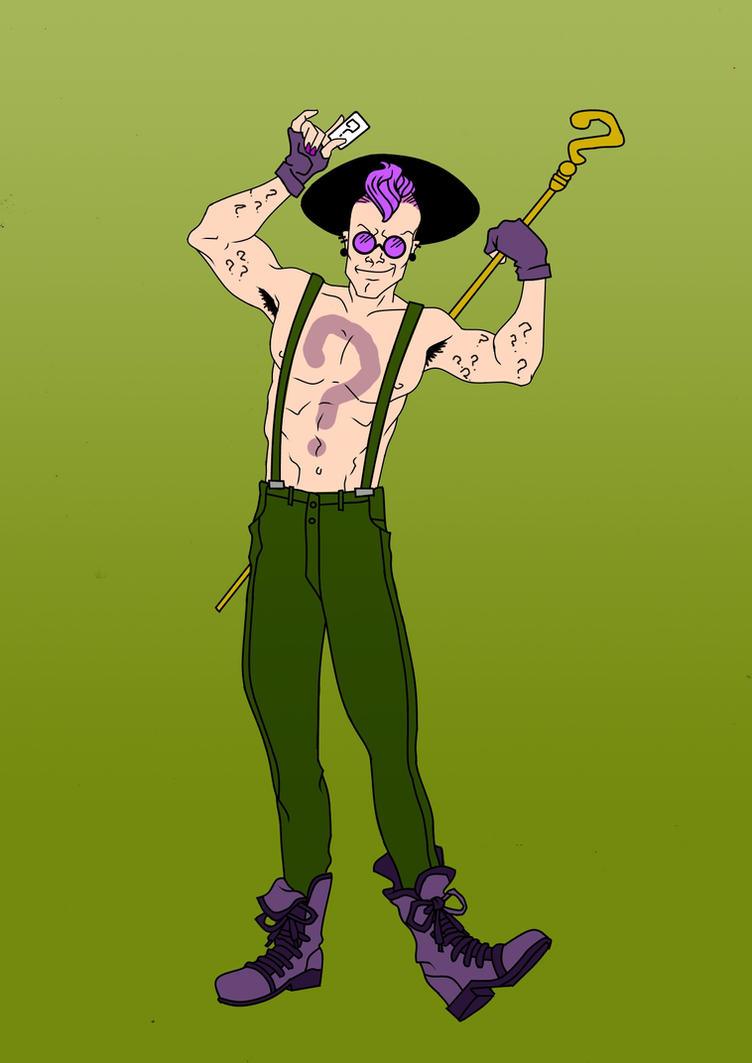 Riddler Redesign by Comicbookguy54321