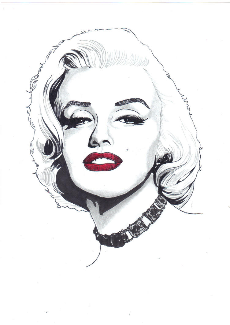 Marilyn Monroe by Comicbookguy54321