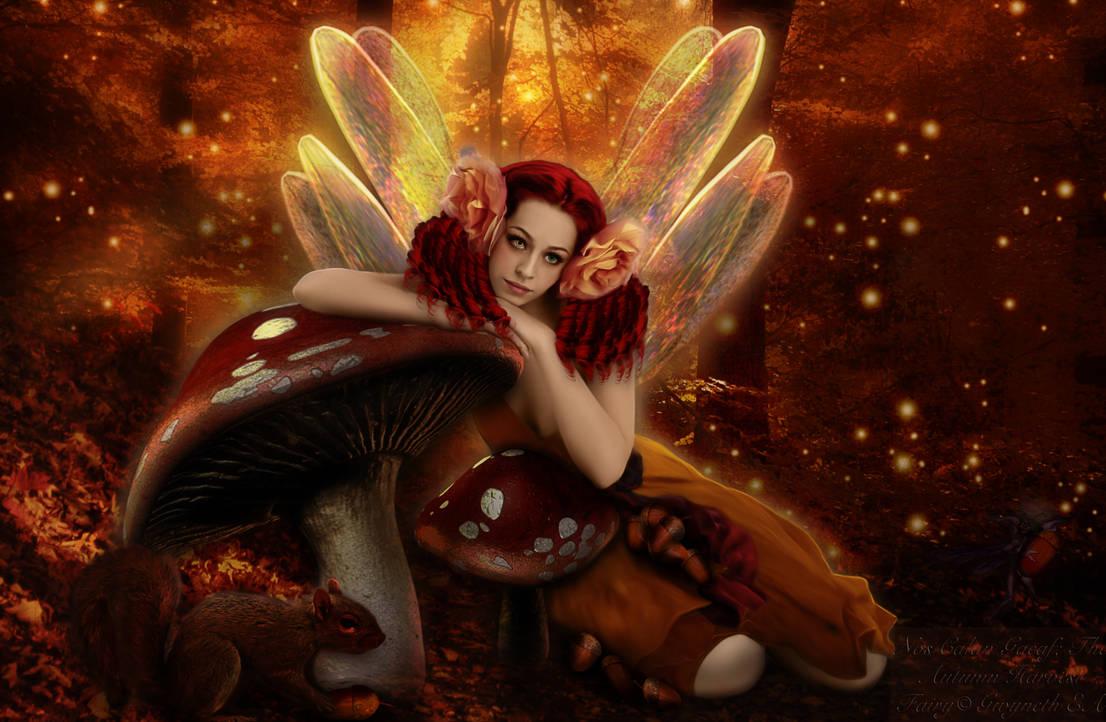 Nos Calan Gaeaf The Autumn Harvest Fairy by Pendragon-Arts