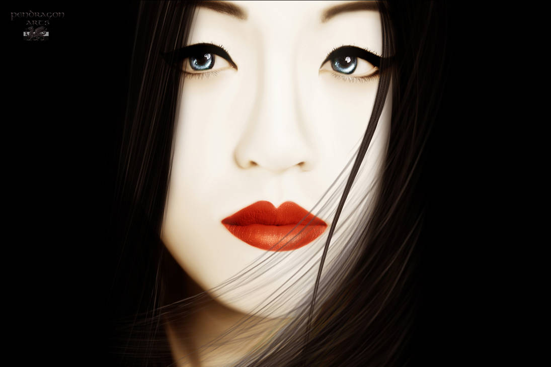Ode to Memoirs of a Geisha by Pendragon-Arts