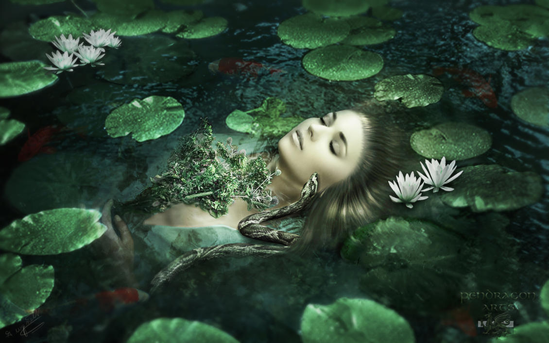 Ophelia's Madness by Pendragon-Arts
