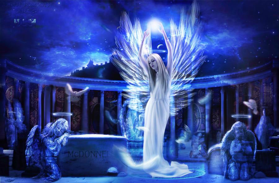 Angelic Gate  by PendragonArts-GEA