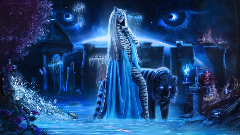 VyGhraMunju Goddess of Balance by Pendragon-Arts