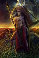 Boadicea Chronicles of the Lost Witchblades by Pendragon-Arts