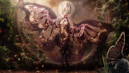 Madame Butterfly by PendragonArts-GEA