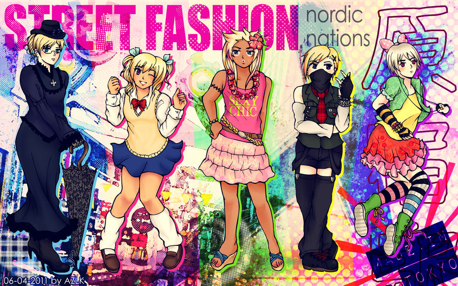 Nordics x Japan Street Fashion