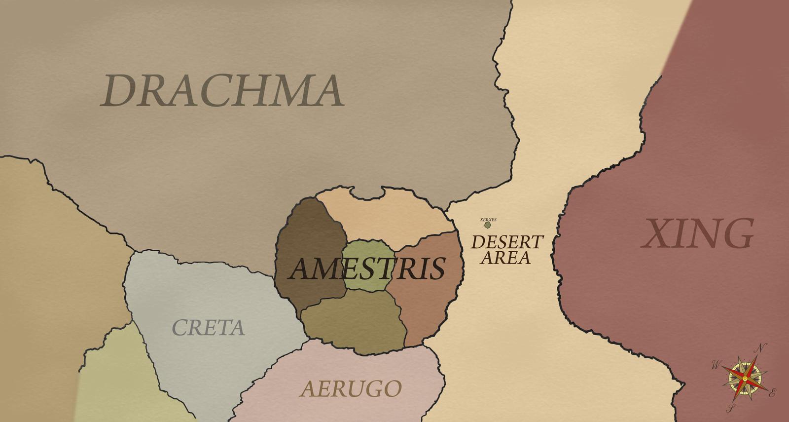 Amestris Map by PosterMasterChef on DeviantArt