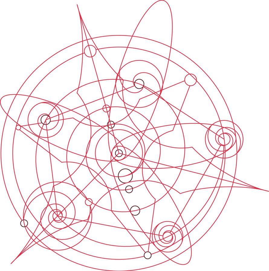 fullmetal alchemist transmutation circle writing activity