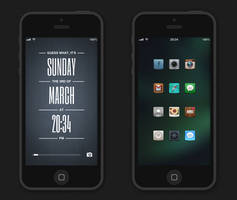 iPhone5 Setup by raresey
