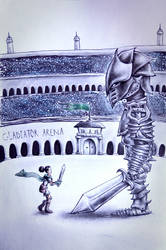 Gladiator by Lunipae