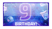 Happy Birthday DevArt Stamp by hNsM