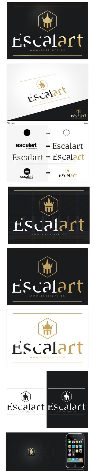 Escalart Logo by hNsM