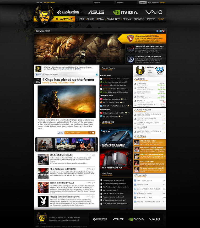 playzone gaming by hnsm on deviantart