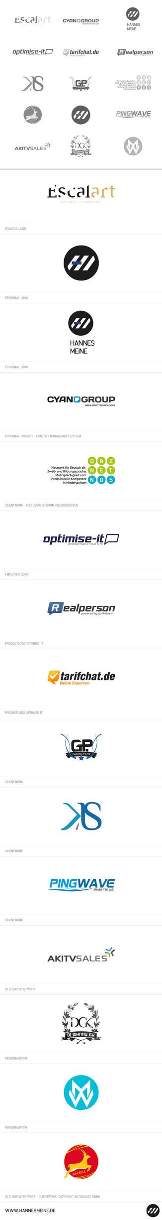 Logos 2009-2011 by hNsM