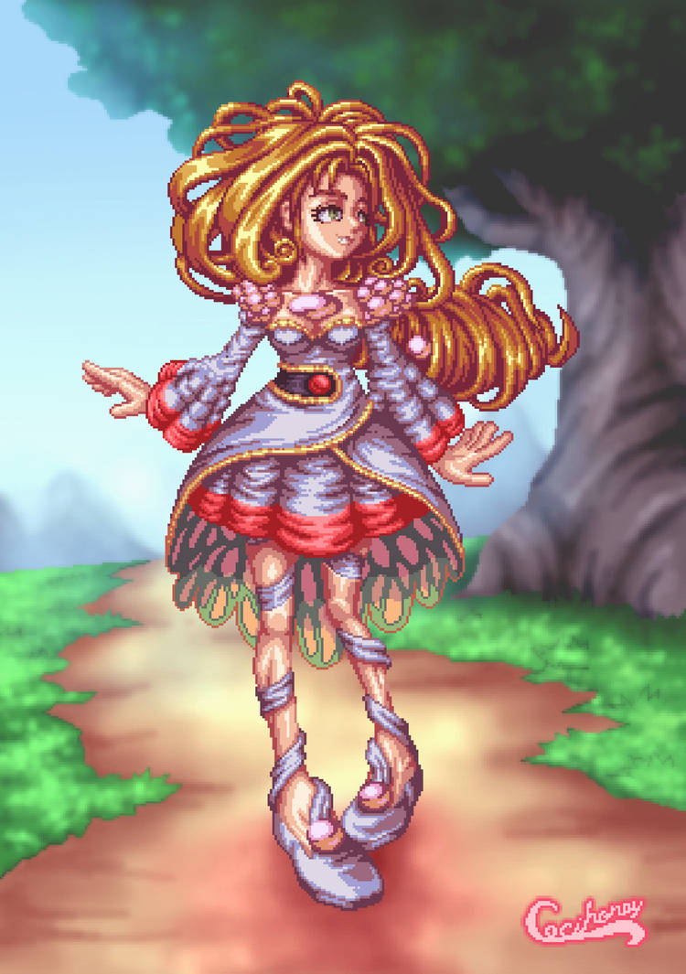 Pearl for Legend of Mana Collab