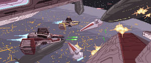 Star Wars collab ep 3 - Battle over coruscant