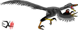 Velociraptor by Dr-XIII