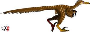 Austroraptor by Dr-XIII