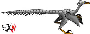 Mongolian Troodon by Dr-XIII