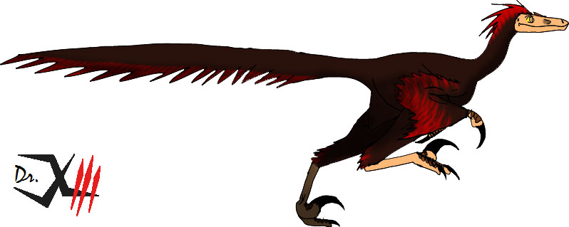 The Pyroraptor by Dr-XIII
