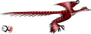 Microraptor by Dr-XIII