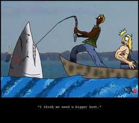 ByoScar - Need  Bigger Boat by Dr-XIII