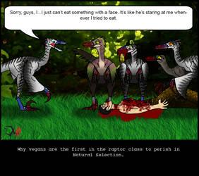 ByoScar - Vegan Raptor by Dr-XIII