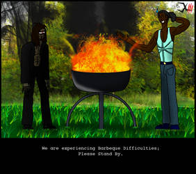 ByoScar - Barbeque Difficulties by Dr-XIII