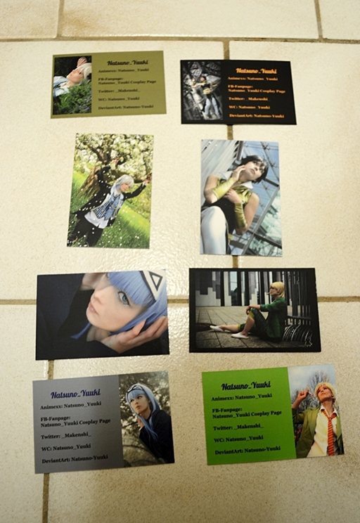 give away Coscards ~ thanks for 14000 views ^o^ by Natsuno-Yuuki