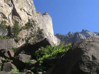 Mountain in Yosemite by thejediknight1