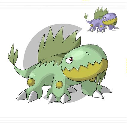 002 Tergrow by Pokemon-Diamond