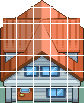 HGSS Pallet Town houses Tiles