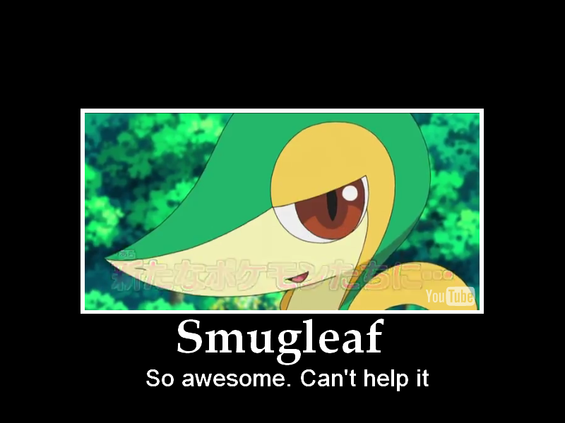 Smugleaf by Pokemon-Diamond