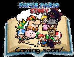 Paper Mario Story poster by Mucrush