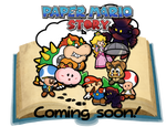 Paper Mario Story poster