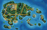 Hoenn BW styled map