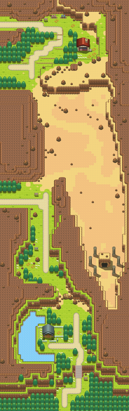 Route 111 remake by Pokemon-Diamond