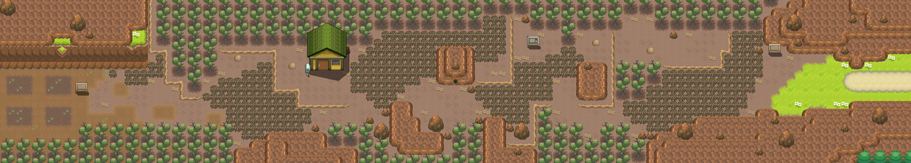 Route 113 remake by Pokemon-Diamond