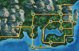 Kanto BW styled map by Pokemon-Diamond
